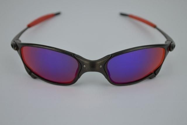 3950bd21f8 ... sweden new polarized custom light red lens for oakley juliet sunglasses  77f5a da450 ...